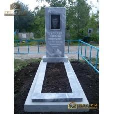 Памятник из мрамора - Прямой   PM0023